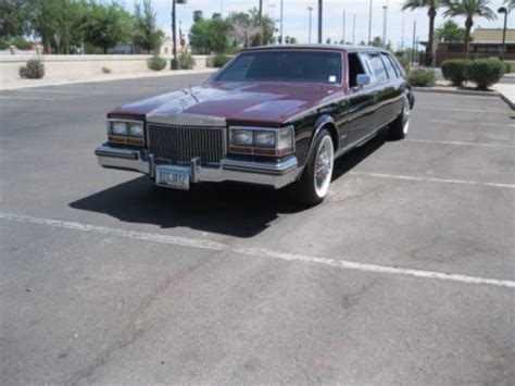 Sell Used 1981 Cadillac Seville Limo In Phoenix, Arizona
