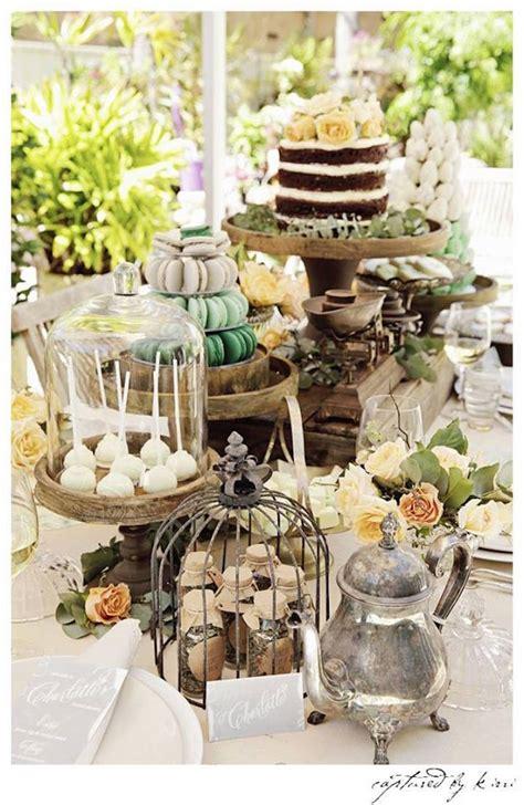 Kara's Party Ideas Rustic Outdoor Bridal Shower Kara's