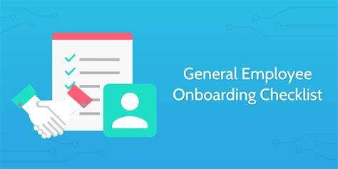 employee onboarding checklist process street