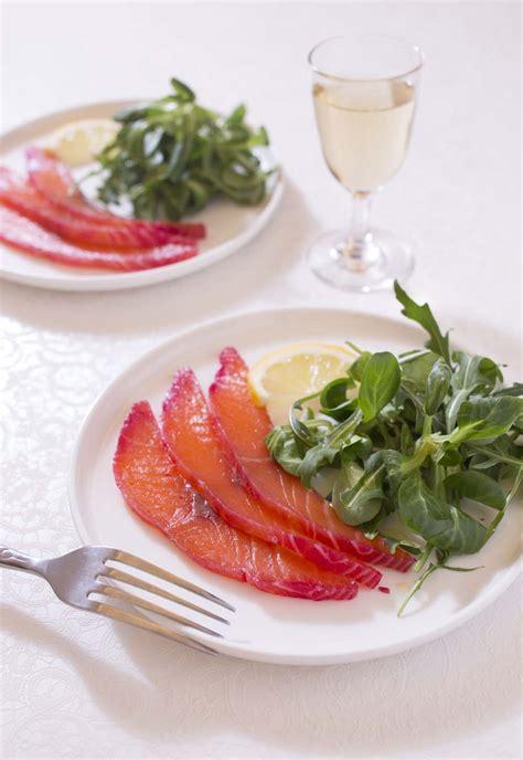 cuisine entr froide gravelax saumon betterave façon oliver les