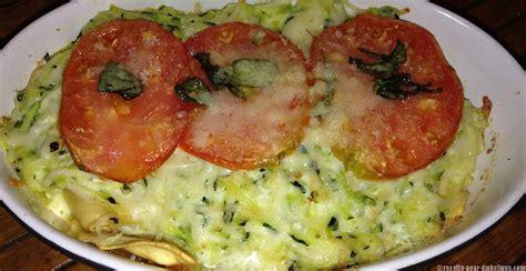 recette de cuisine pour regime gratin de raviolis et courgettes
