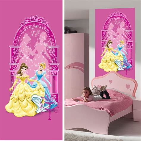 decoration chambre raiponce disney princesse décoration murale poster de porte