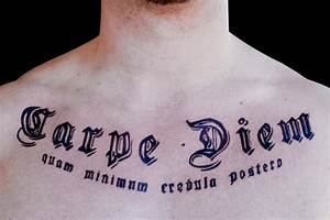 Great Tattoos: Carpe Diem Tattoo