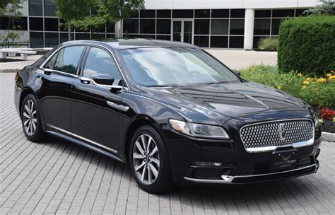 First Drive 2018 Lincoln Continental  Chauffeur Driven