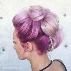 hair styles with a bun 1000 ideas about mohawk updo on hair 2674