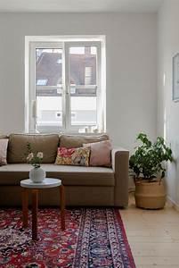 Wohnzimmer Omasteppich Pflanzen Mix Vintage Bo