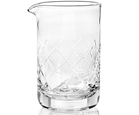 glass crystal cocktail mixing bottom thick 500ml 17oz amateurs