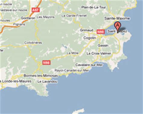 Situer Aygulf Carte by Seaside Rentals St Tropez