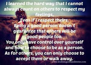 Being Respectful To Others Quotes QuotesGram