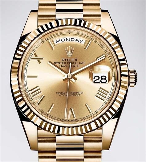 Rolex Day-date 40 Watch With New Rolex 3255 Movement
