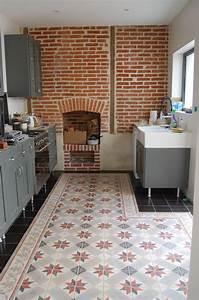 castorama carreaux de ciment gallery of comme un tapis With castorama carreaux ciment