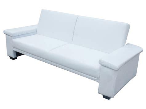 canapé sous fenetre canapé clic clac quot quot 3 places blanc ebay