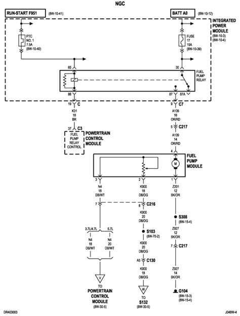 Need Wiring Diagram For Fuel System Dodge Ram