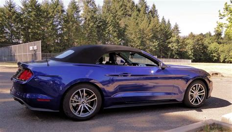 ford mustang convertible test drive nikjmilescom