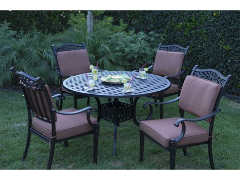 darlee outdoor living standard charleston cast aluminum