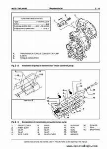 Fiat Kobelco W170  170pl  190 Wheel Loader Service Manual