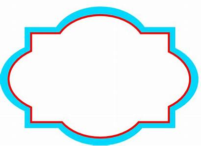 Label Decorative Clip Clipart Blank Tag Labels
