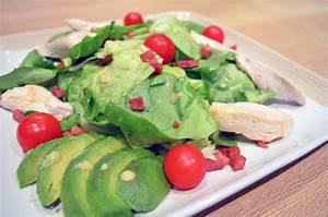 Salade Poulet Avocat : salade improvis e de poulet avocat et lardons legumes et ~ Melissatoandfro.com Idées de Décoration