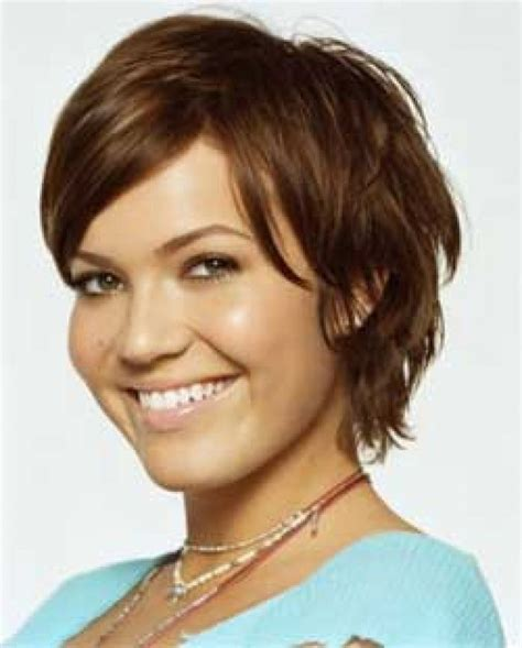 how to cut hair like mandy moore choppy short hairstyle 2013