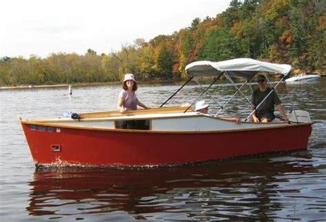 af power cabin skiff designed  jim michalak