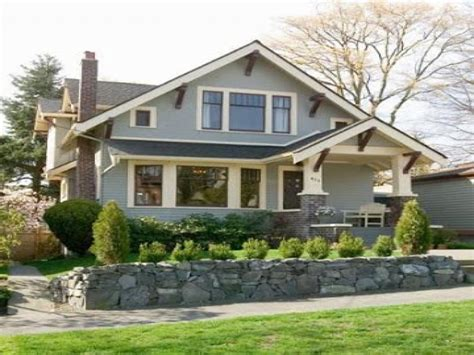 style bungalow home plans craftsman bungalow style home exterior classic house styles