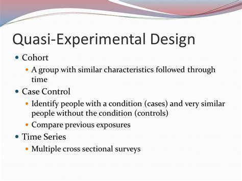 quasi experimental design reading the dental literature ppt