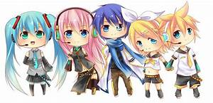 Vocaloid Chibis Set1 by Chiroyo on DeviantArt