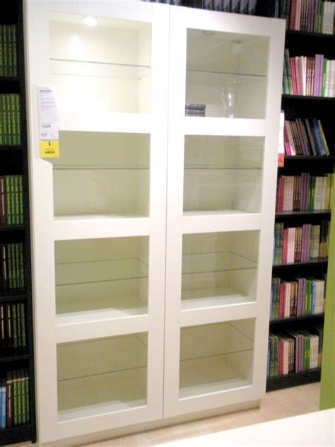 white library bookcase with doors awesome ikea bookshelves with glass doors appealing new