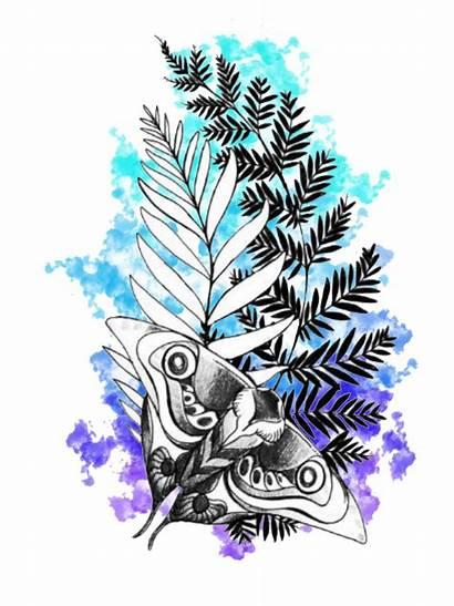 Tattoo Splash Last Holly Society6 Uncharted Compass