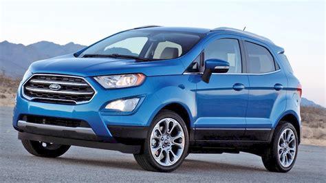 2018 Ford Ecosport Suv Consumer Reviews Edmunds  Autos Post