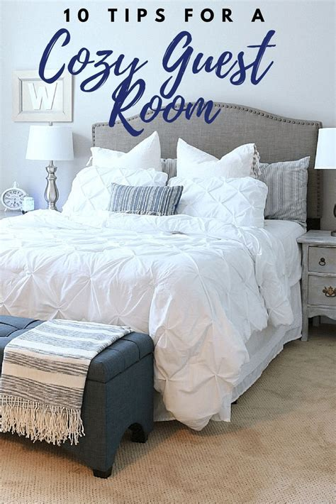 Guest Bedroom Bedding by 10 Must Haves For A Cozy Guest Room Bhg Live Better