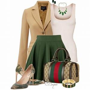 70 best Olive Green Skirt Outfits images on Pinterest | Work outfits Fashion ideas and Feminine ...