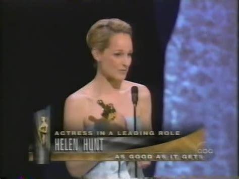 helen hunt winning  actress   good