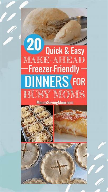 Freezer Friendly Dinners Meals Easy Recipes Ahead