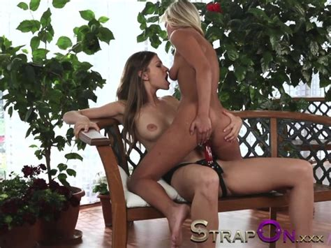 Strapon Hot And Horny Lesbians Make Love With Strapon Sex Toys Free Porn Videos Youporn