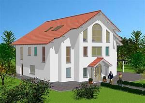 Pläne Für Häuser : exklusive h user bauen zweigeschossiges massivhaus ~ Lizthompson.info Haus und Dekorationen
