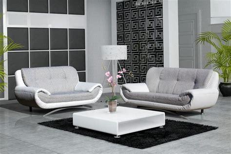 canapes gris photos canapé design gris et blanc