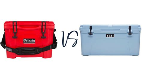 Grizzly Coolers Vs Yeti Coolers