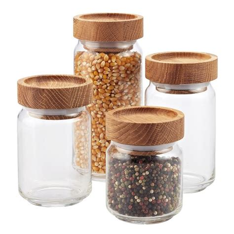 Glass Canisters Kitchen by 25 Best Glass Canisters Ideas On Bulk Food