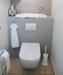 Toilettes Suspendues Grohe : pose d 39 un wc suspendu wici concept ~ Nature-et-papiers.com Idées de Décoration