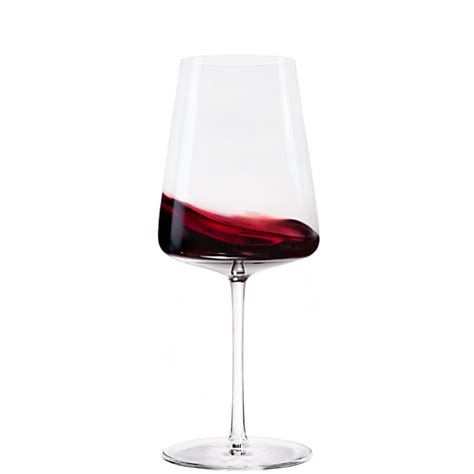 Splashes of wine in two wineglasses. Stolzle Power Red Wine Glass - Set of 6, Glassware; UK ...