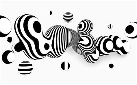 abstract vector black and white background free