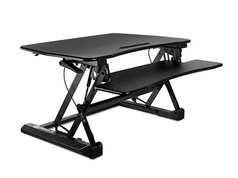 Mount-It! Height Adjustable Sit-Stand Desk Converter ...