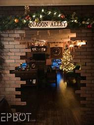 harry potter christmas decorating ideas - Harry Potter Christmas Decorating Ideas