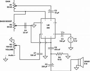 How To Decrease Distortion  Noise Of Lm386 Amplifier At Max Gain And Volume