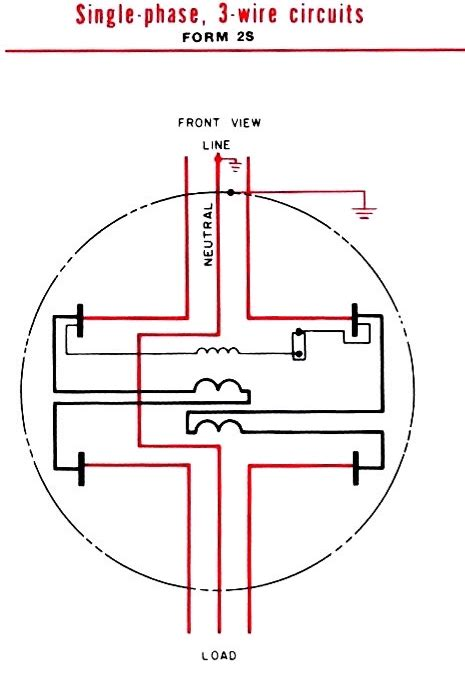 Wire Diagram For Meter by Kwhr Meter 240v 100a Ez Read Meter