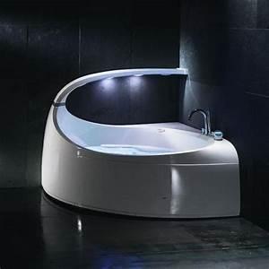 Baignoire Ilot Contre Mur : baignoire salle de bain prix et mat riaux ~ Nature-et-papiers.com Idées de Décoration