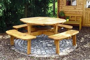 Gartenmöbel Set Runder Tisch : runder tisch garten free beautiful garten tische antik ~ Michelbontemps.com Haus und Dekorationen