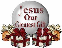 Jesus' our greatest t