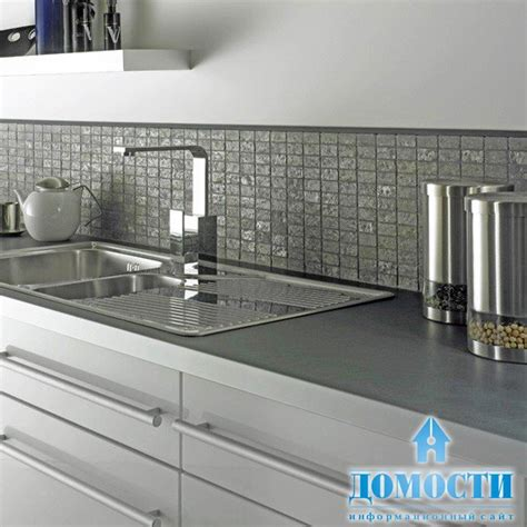 white wall tiles kitchen плитка мозаика для кухни 1485